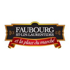 logo faubourg st lin laurentides place du marche