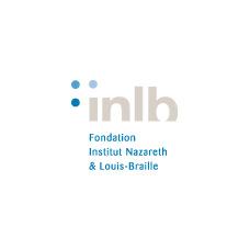 logo inlb institut nazareth louis braille