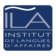logo institut de langues d affaires ila