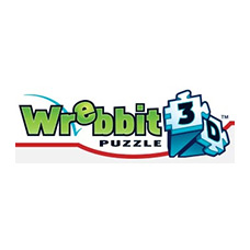 logo wrebbit puzzle 3d